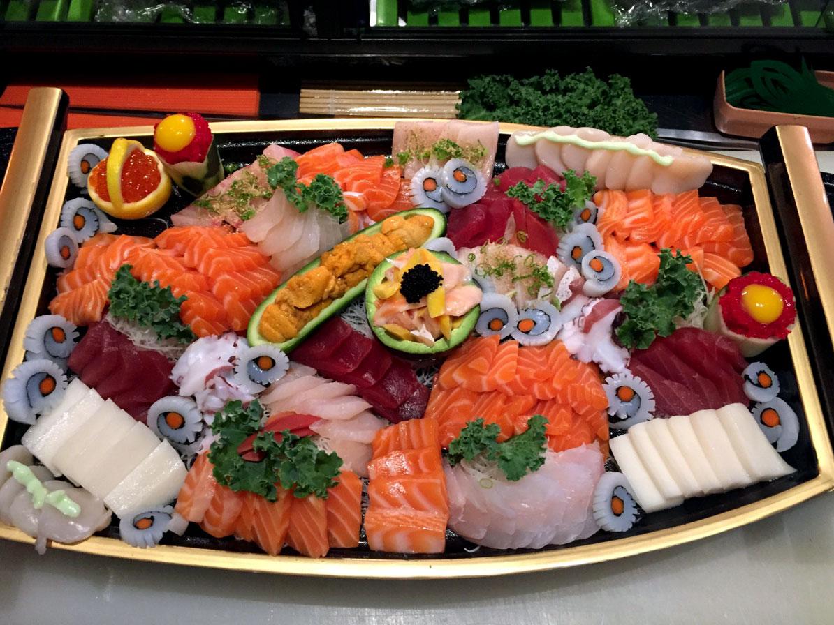 Sushi & Sashimi - Yooki Yama Japanese Restaurant